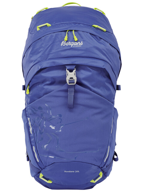 Bergans Rondane 30L Backpack Blue/Neon Green